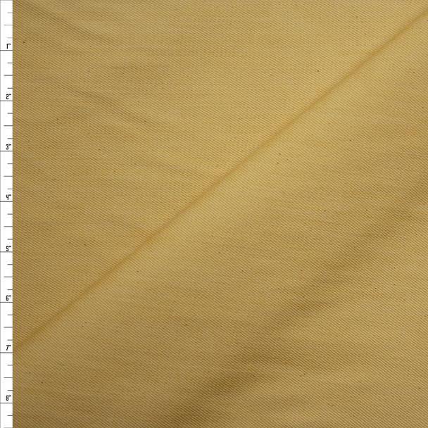 Yellow 12oz Designer Denim Fabric By The Yard