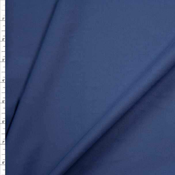 Slate Brushed Midweight Athletic Knit Fabric By The Yard