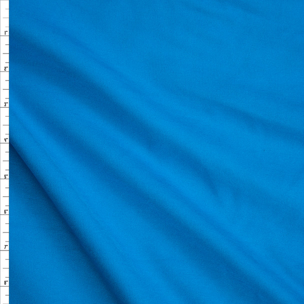 Turquoise Heavyweight Stretch Ponte De Roma Fabric By The Yard