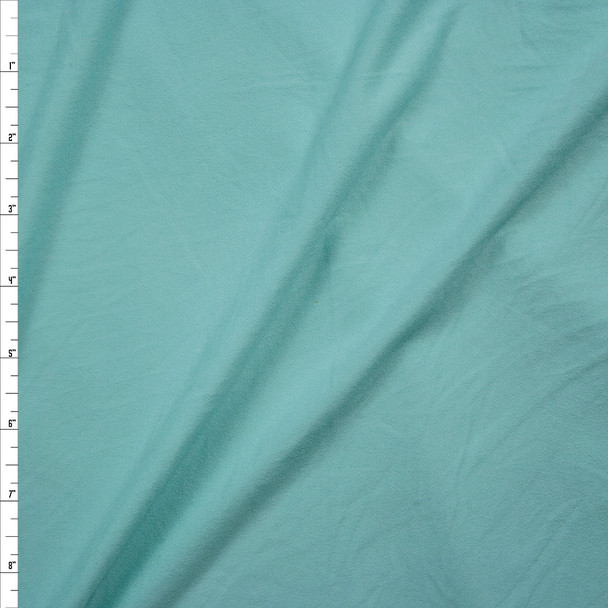 Mint Green Double Brushed Poly/Spandex Fabric By The Yard