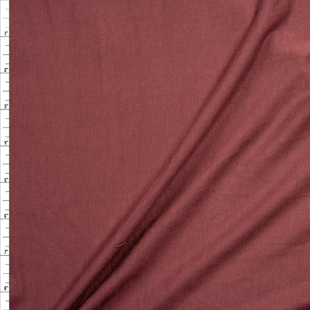 Rust Midweight 4-way Stretch Rayon/Spandex Jersey Knit Fabric By The Yard