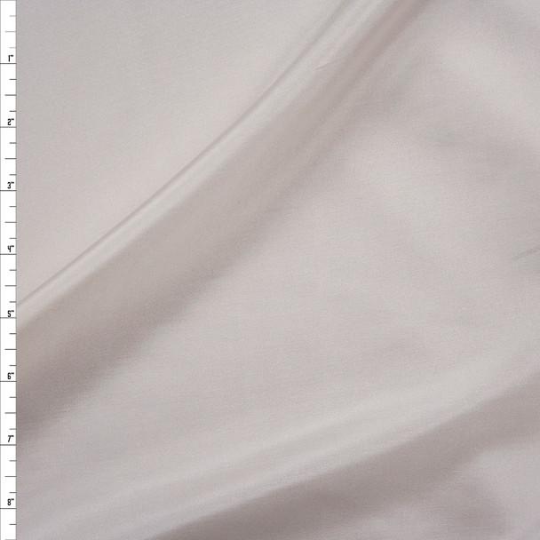 Ivory Designer Silk Habotai Fabric By The Yard