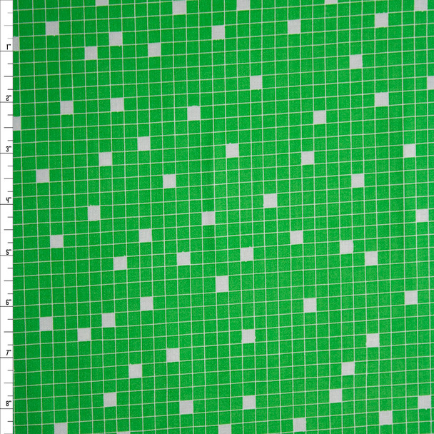 Wordplay Green by Wyndham Fabrics Quilter's Cotton Print Fabric By The Yard