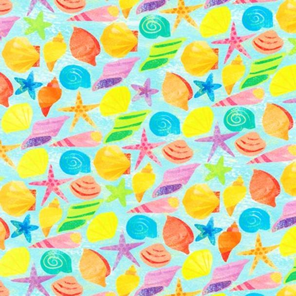 Octopus Garden Summer from Robert Kaufman Quilter's Cotton Print