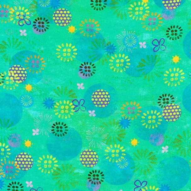 Octopus Garden Marine from Robert Kaufman Quilter's Cotton Print