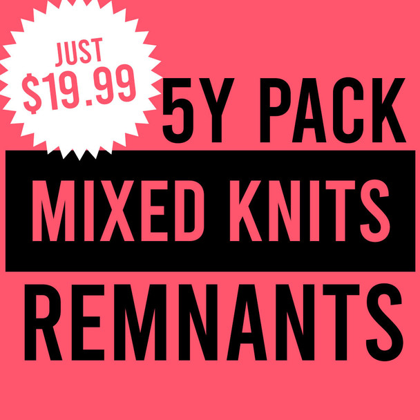 Remnant Pack - 5y Mixed Knits