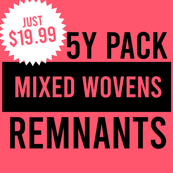 Remnant Pack - 5y Mixed Wovens