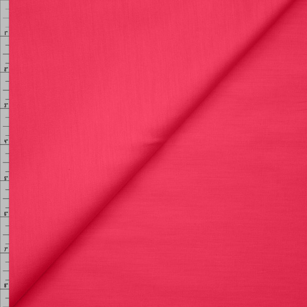 Hot Pink Stretch Cotton Broadcloth