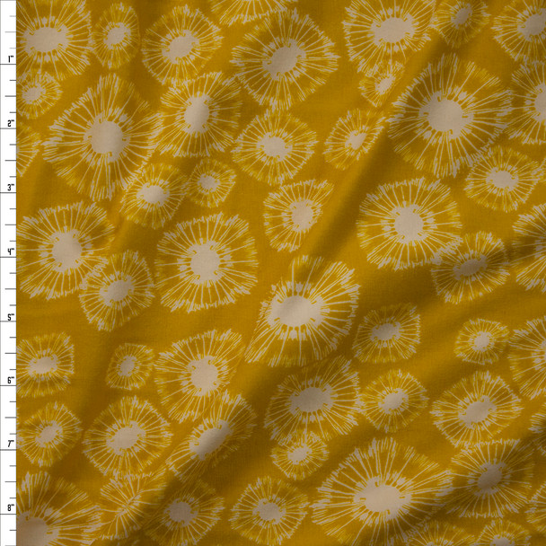 Specks of Caramboia Cotton/Spandex Jersey Knit from Art Gallery Fabrics Fabric By The Yard