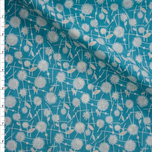 Seed Puffs Tide Cotton Voile from Art Gallery Fabrics Fabric By The Yard