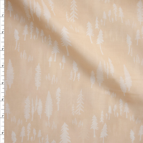 Timberland Trunk Cotton Voile from Art Gallery Fabrics Fabric By The Yard