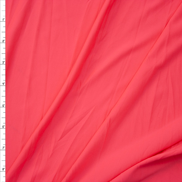 Neon Pink Stretch Poly/Spandex Knit Fabric By The Yard