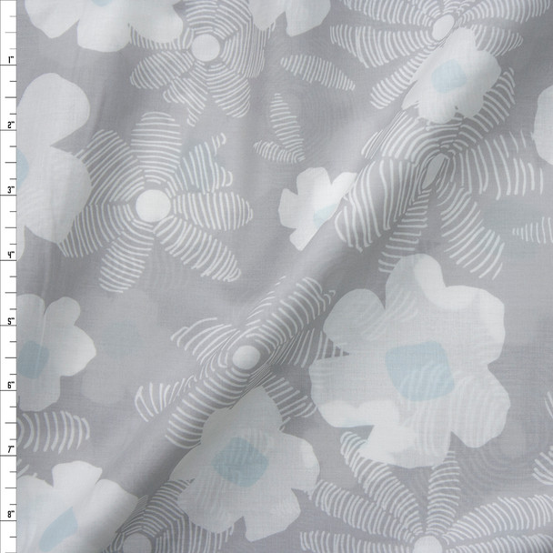 Asphodel Trace Cotton Voile by Art Gallery Fabrics Fabric By The Yard