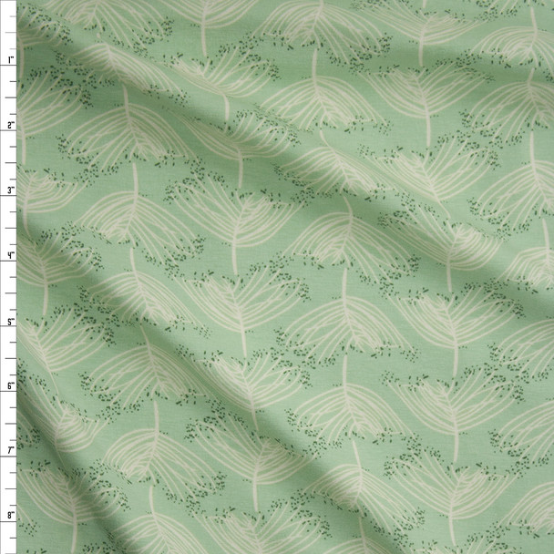 Laced Moss Fabric By The Yard