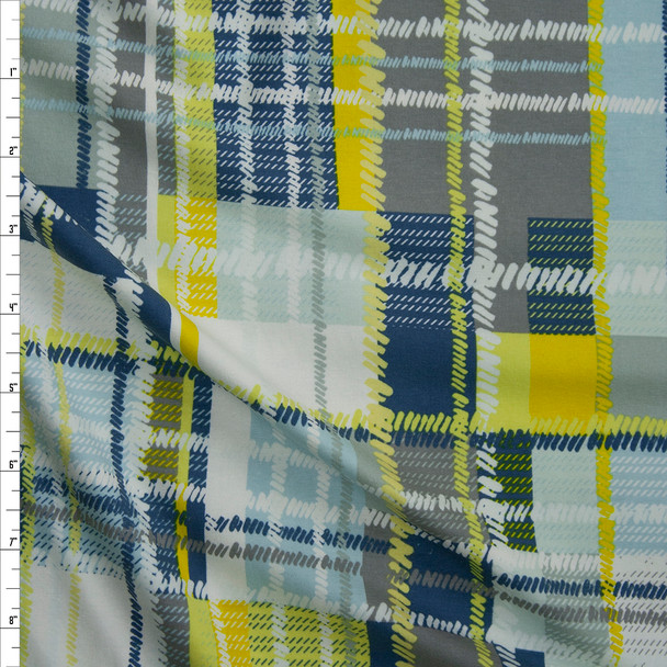 Blueberry Cobbler Plaid Fabric By The Yard