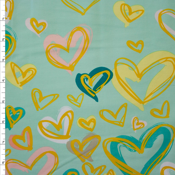 Where the Heart Is Reverie Border Print Quilter's Cotton from Art Gallery Fabrics Fabric By The Yard