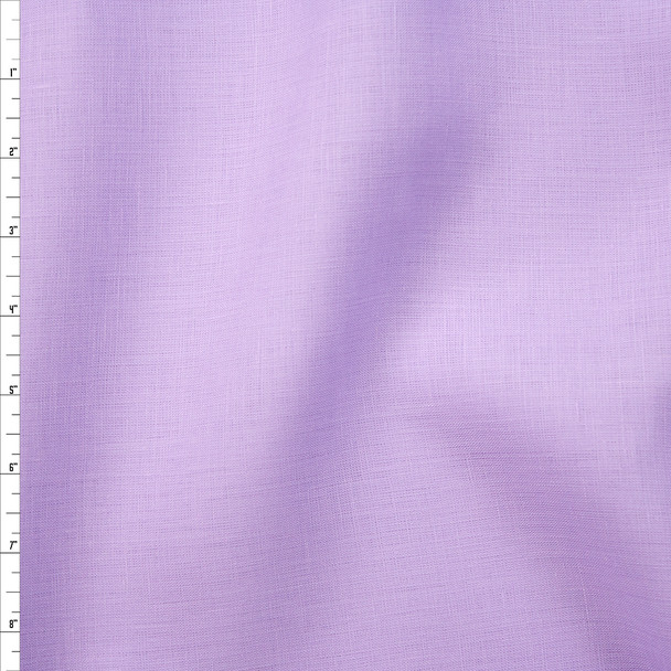 Lavender Midweight Irish Linen Fabric By The Yard