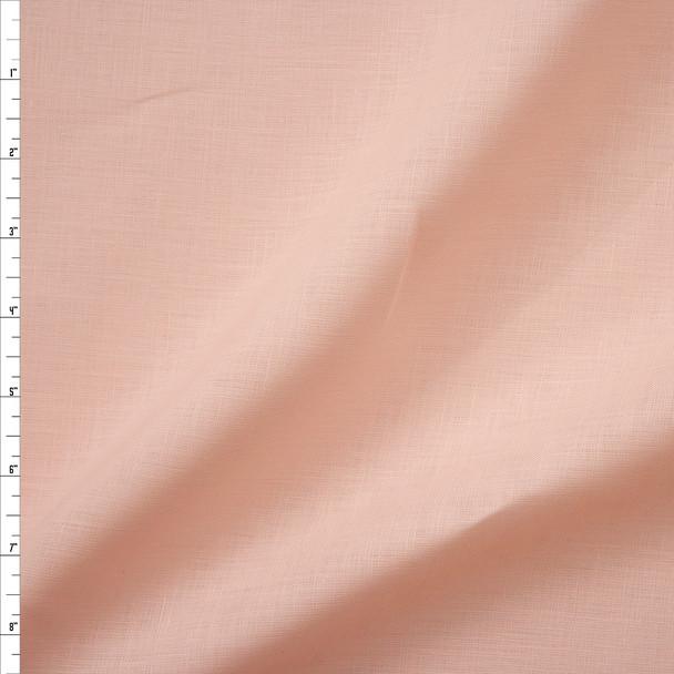 Blush Midweight Irish Linen Fabric By The Yard