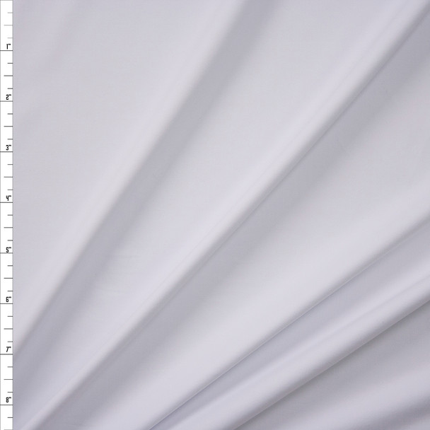 White Midweight Nylon Spandex Fabric By The Yard