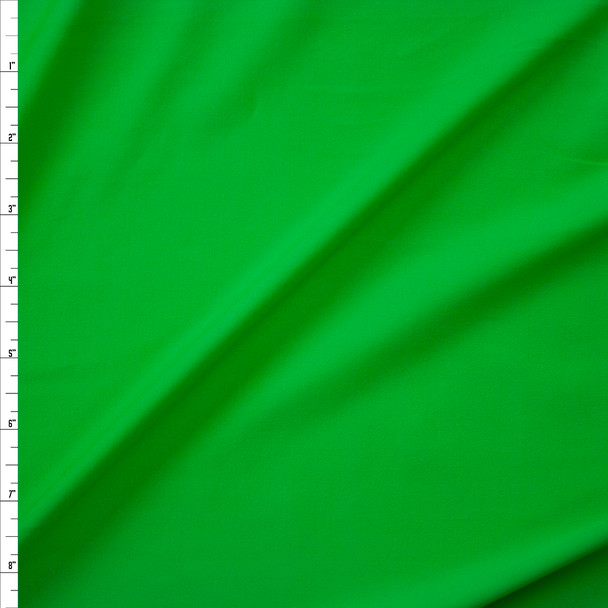 Neon Green Midweight Nylon Spandex Fabric By The Yard