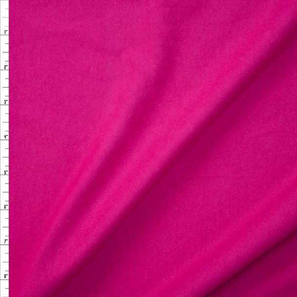 Fuchsia Stretch Cotton/Spandex Jersey Knit Fabric By The Yard