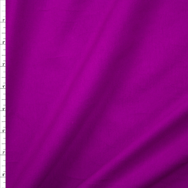 Grape Stretch Cotton/Spandex Jersey Knit Fabric By The Yard