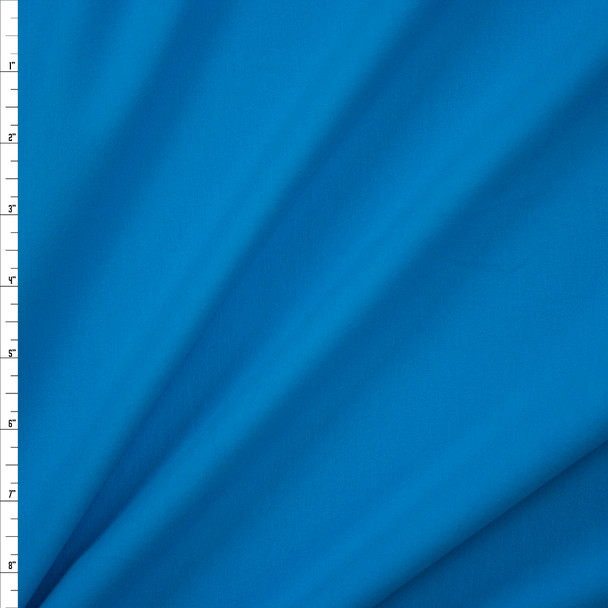 Turquoise Stretch Cotton/Spandex Jersey Knit Fabric By The Yard
