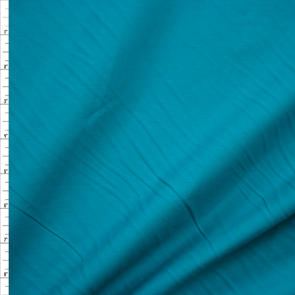 Jade Stretch Cotton Broadcloth Fabric By The Yard