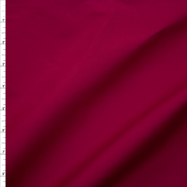 Wine Stretch Cotton Broadcloth Fabric By The Yard