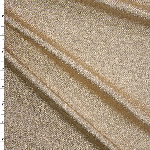 Metallic Gold Bullet Texture Liverpool Fabric By The Yard