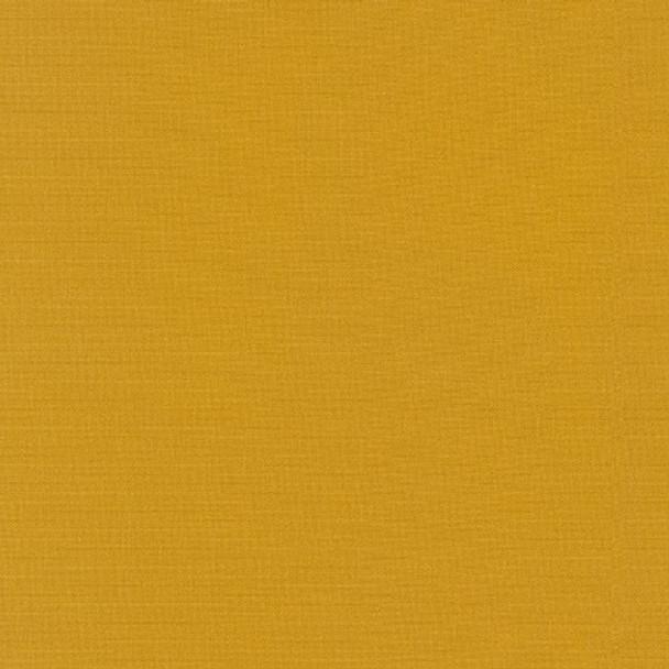 Curry Kona Cotton by Robert Kaufman