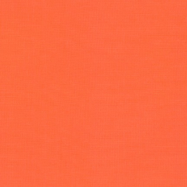 Orangeade Kona Cotton by Robert Kaufman