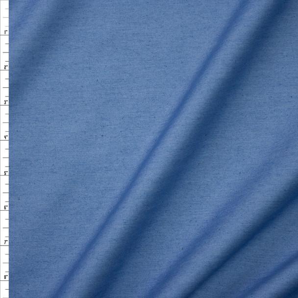 Light Blue Lightweight Rayon Denim Fabric By The Yard