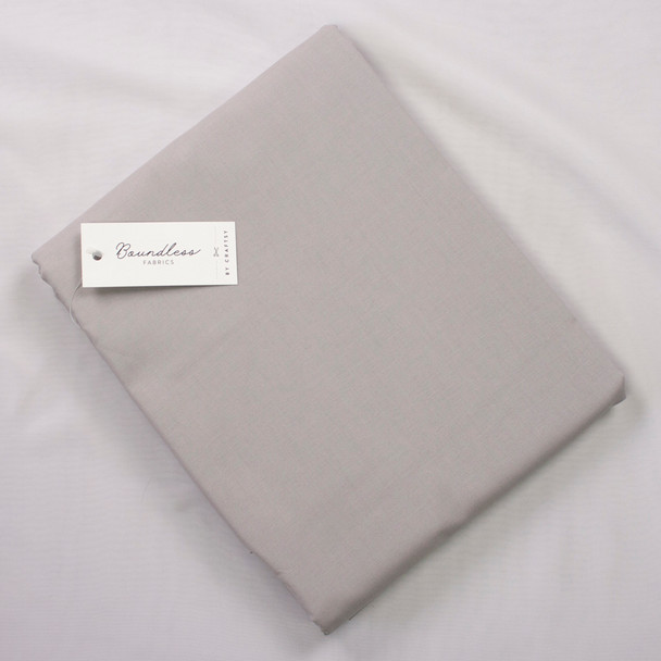 Boundless Quilter's Cotton Pumpkin Patch Grey (Bargain 5y Cut) Fabric By The Yard