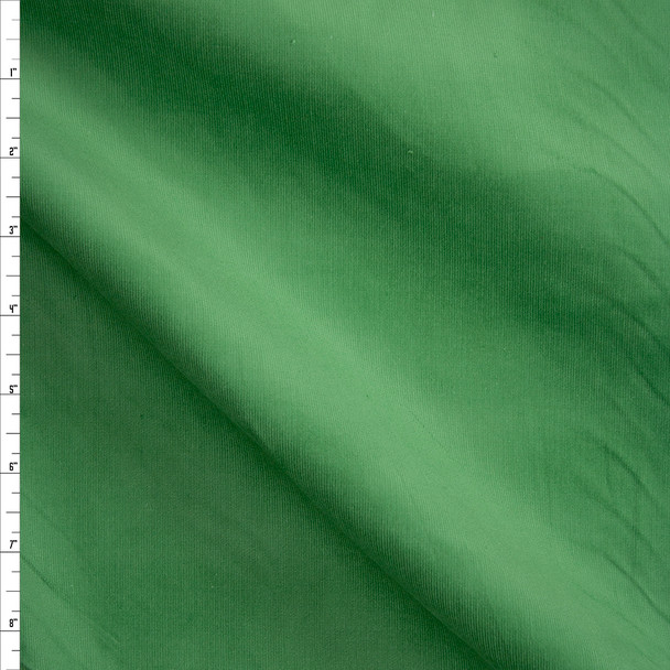 Bright Green Stretch Baby Wale Corduroy Fabric By The Yard