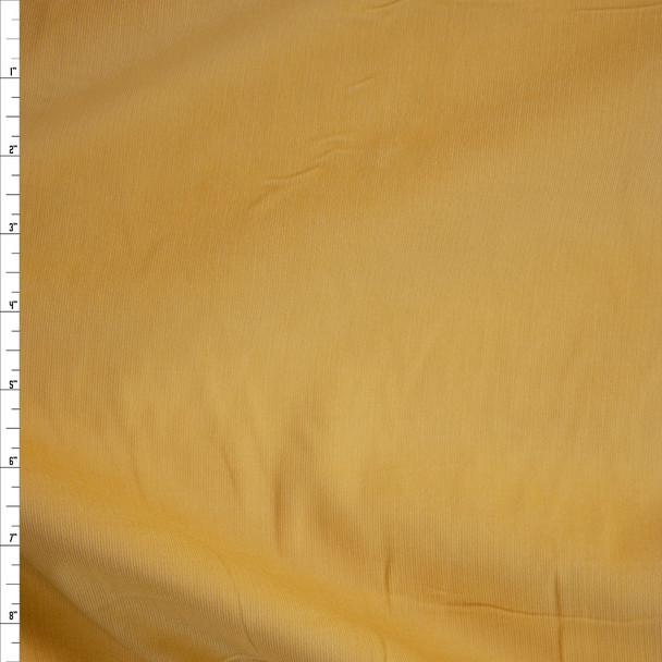 Light Yellow Baby Wale Corduroy Fabric By The Yard