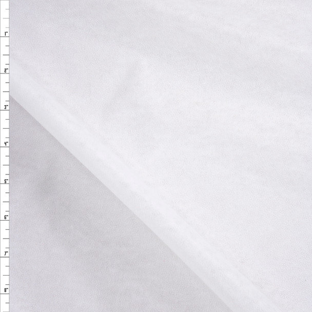 White Lightweight Nonwoven Fusible Interfacing Fabric By The Yard