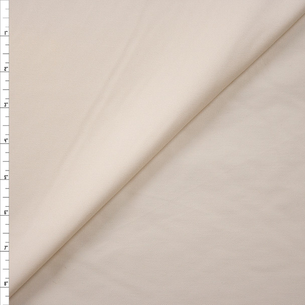 Ivory Designer Cotton Twill Fabric By The Yard