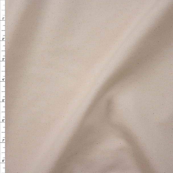 Natural Designer Cotton Canvas Fabric By The Yard