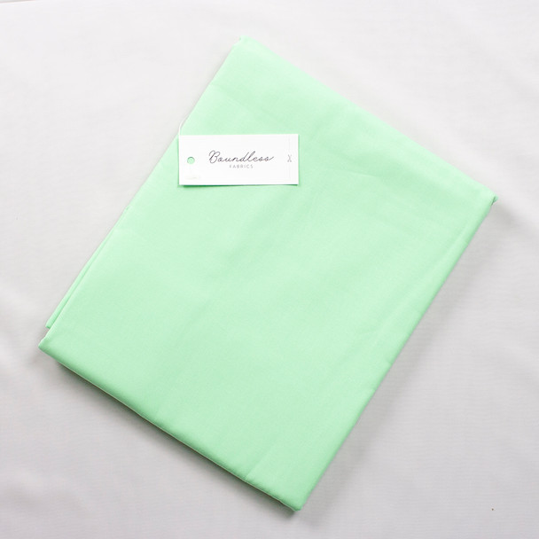 Boundless Quilter's Cotton Solid Pistachio (3y Bargain Cut) Fabric By The Yard