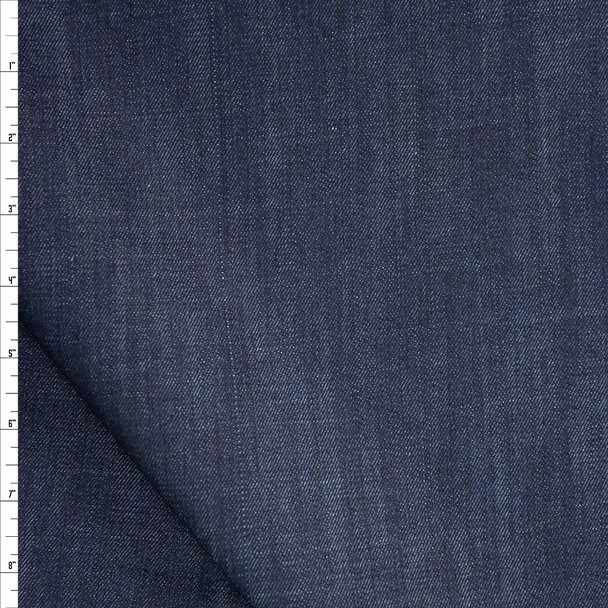 Indigo #14 Stretch Midweight Denim from 'True Religion' Fabric By The Yard