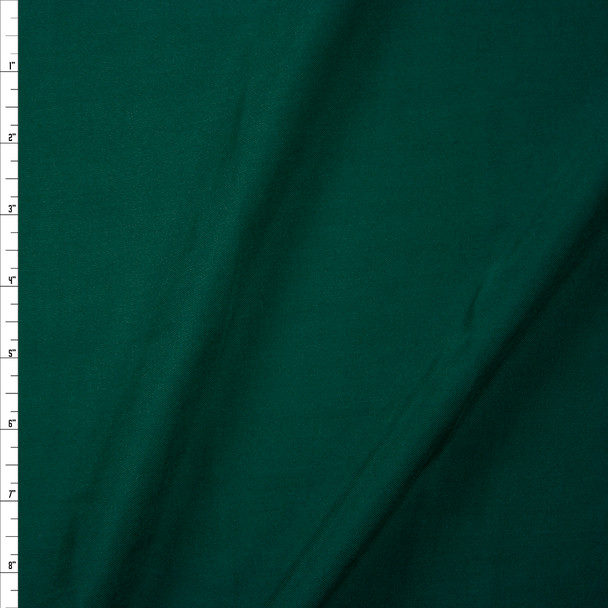 Hunter Green Rayon Challis Fabric By The Yard