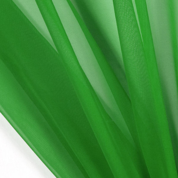 "Neon Green 45"" Chiffon"