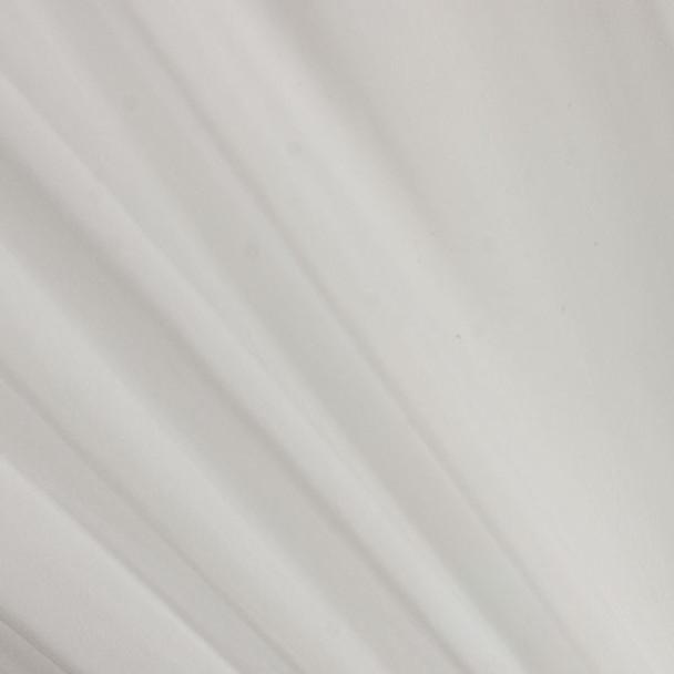 White Two-Tone Chiffon