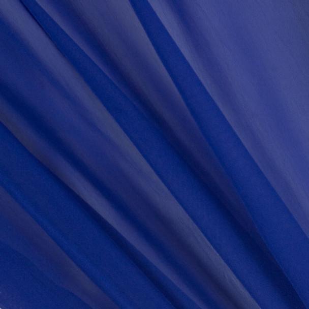 Royal Blue Two-Tone Chiffon