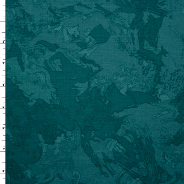 Blenders Collage Emerald Quilter's Cotton Print from Boundless Fabrics Fabric By The Yard