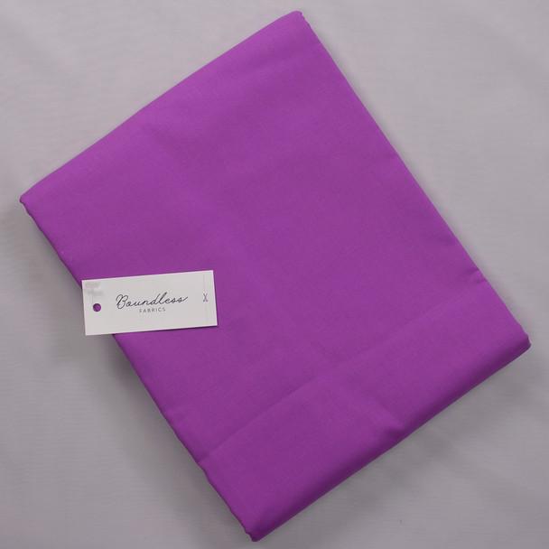 Boundless Back Purple (5y Bargain Cut) Fabric By The Yard