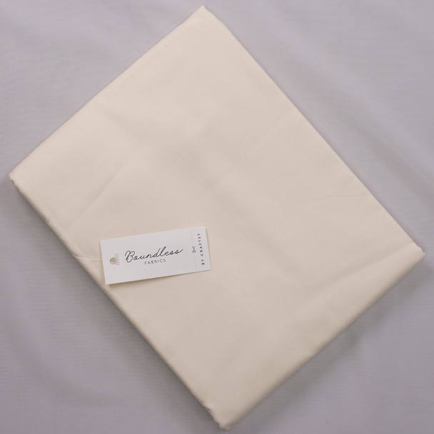 Boundless Warm White (4y Bargain Cut) Fabric By The Yard