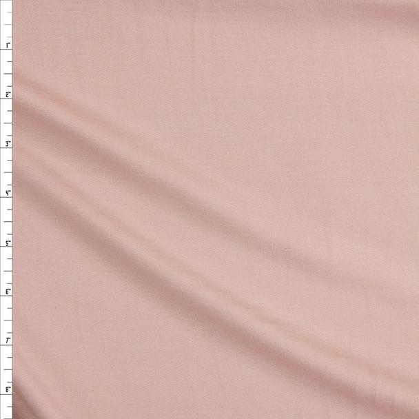 Blush Soft Sweatshirt Fleece Fabric By The Yard
