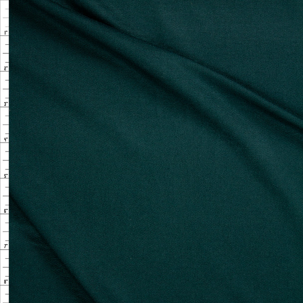 Emerald Green Lightweight Bamboo French Terry Fabric By The Yard